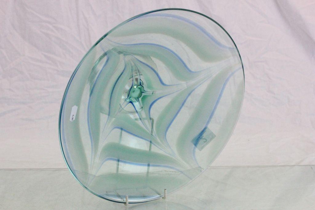 Lot 2 - Large art glass Fruit bowl