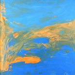 Chris BILLINGTON (b.1955), Acrylic on canvas, 'Islands in the Sun', Inscribed, signed & dated 2008