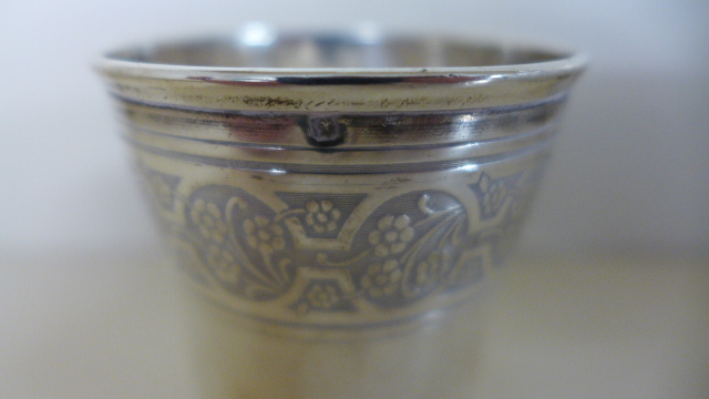 Lot 660 - A Mappin and Webb Silver Dish - 9cm diameter, approximately 1.