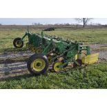 John Deere 885 row crop cultivator, 3 Pt, with fenders, SN 0023537N