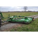 John Deere 1517 batwing rotary mower, hyd fold, 540 PTO, with chains