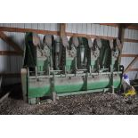 """John Deere 454A row crop head, 4 row 36"""" wide, less than 600 acres"""