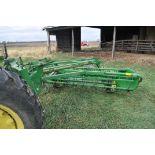 John Deere 64 5 bar rake, ground drive, SN E00064X10119