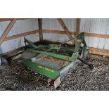 John Deere 709 rotary mower, 3 point, 540 PTO
