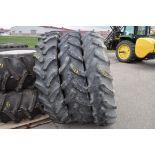 Three 380/90R46 Tires, no rims