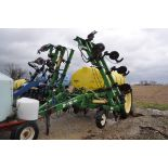 R&G Trail Blazer SST, 28% applicator, 1,600 gal. poly tank, 15 coulters, ground-driven, dual