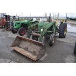 John Deere 2440 2wd tractor with John Deere 146 loader