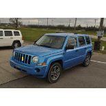 2008 Jeep Patriot, 4x4, auto, blue, power window, power door locks, 2.4 liter, 154,728 mi.