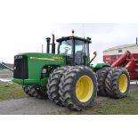 2006 John Deere 9520 tractor, 4x4, Firestone 710/70 R 42 tires, rear tires @90%, 5 hyd remotes,