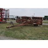 30' Remlinger RT600 field cultivator, flat fold, S tine shanks, notched packer wheel