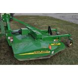 JD MX8 rotary mower, 3 pt, 540 pto, dovetail w/ chains, dual gear boxes, stump jumper