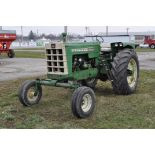 Oliver 1850 tractor, shows 4509 hours, diesel, wide front, 3pt, 540 pto, 1 remote, 9.5L-15 front,