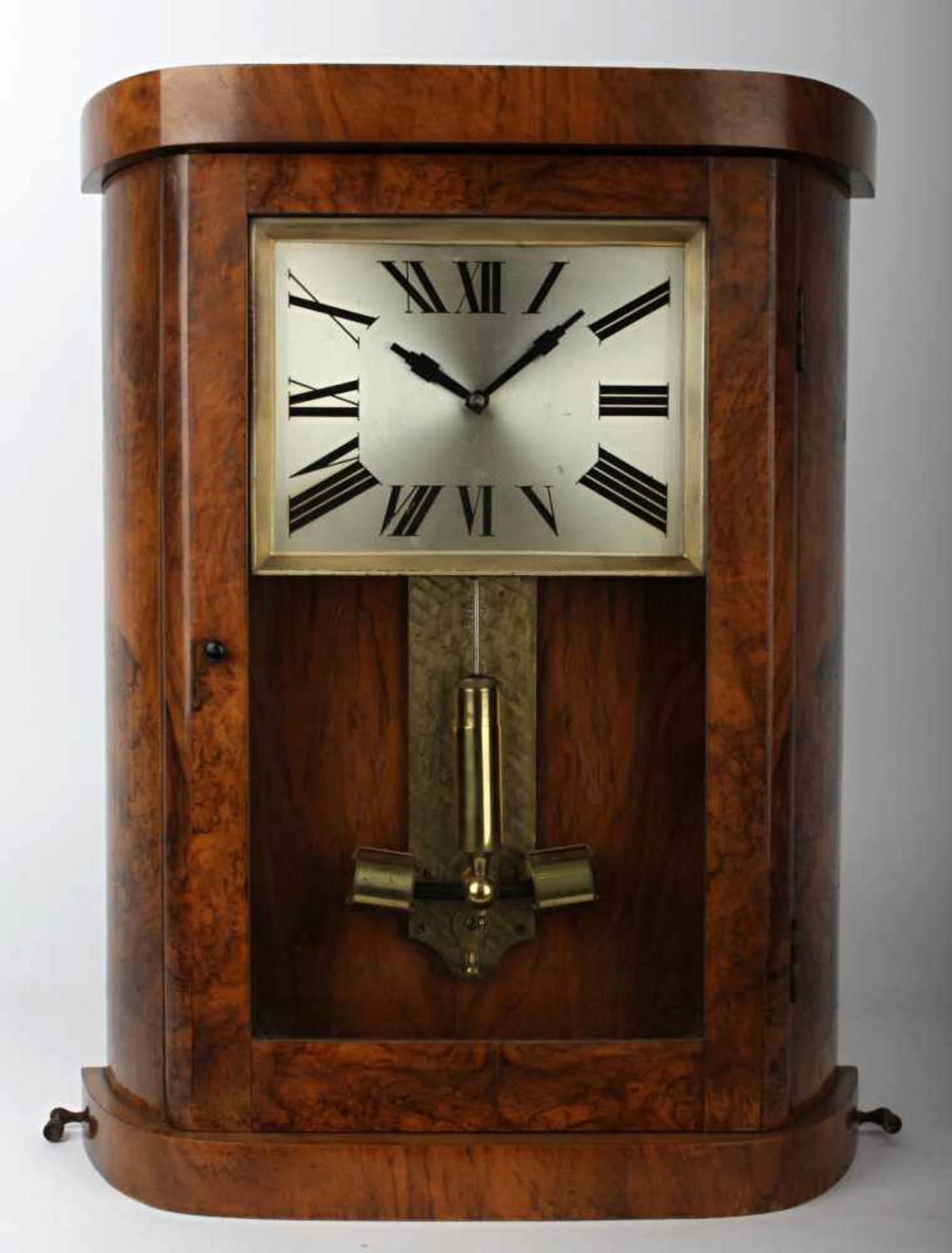 Art deco Electromagnetic Clock Germany, 30 years of the 20th century, wall electromagnetic clock,