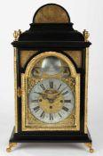 Baroque table clock - Johann Michael Bergauer Wienn Rakousko, Viden, 2. polovina 18. stoleti,