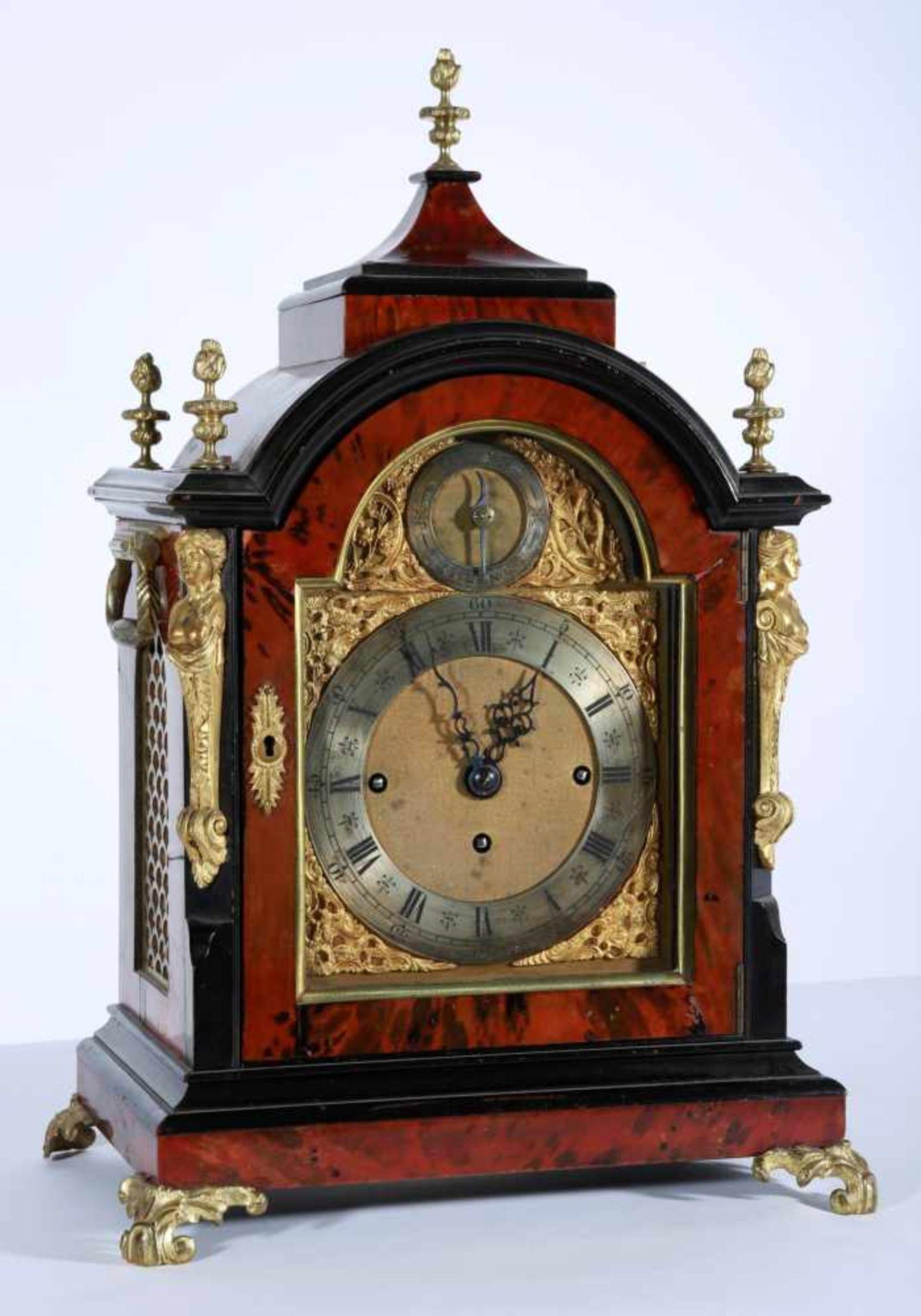 Los 20 - English carillon clock - Musical clock England, London, circa 1780, dial labeled Wells Piccadilly,