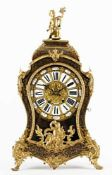 French table clock – Raingo Freres France, Paris, 2nd half of the 19th century, relief gold plated