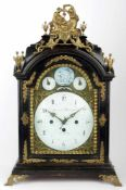 A Baroque Clock Bernard Biswanger in Prag Bohemia, Prague, circa 1770, baroque mantel clock, white