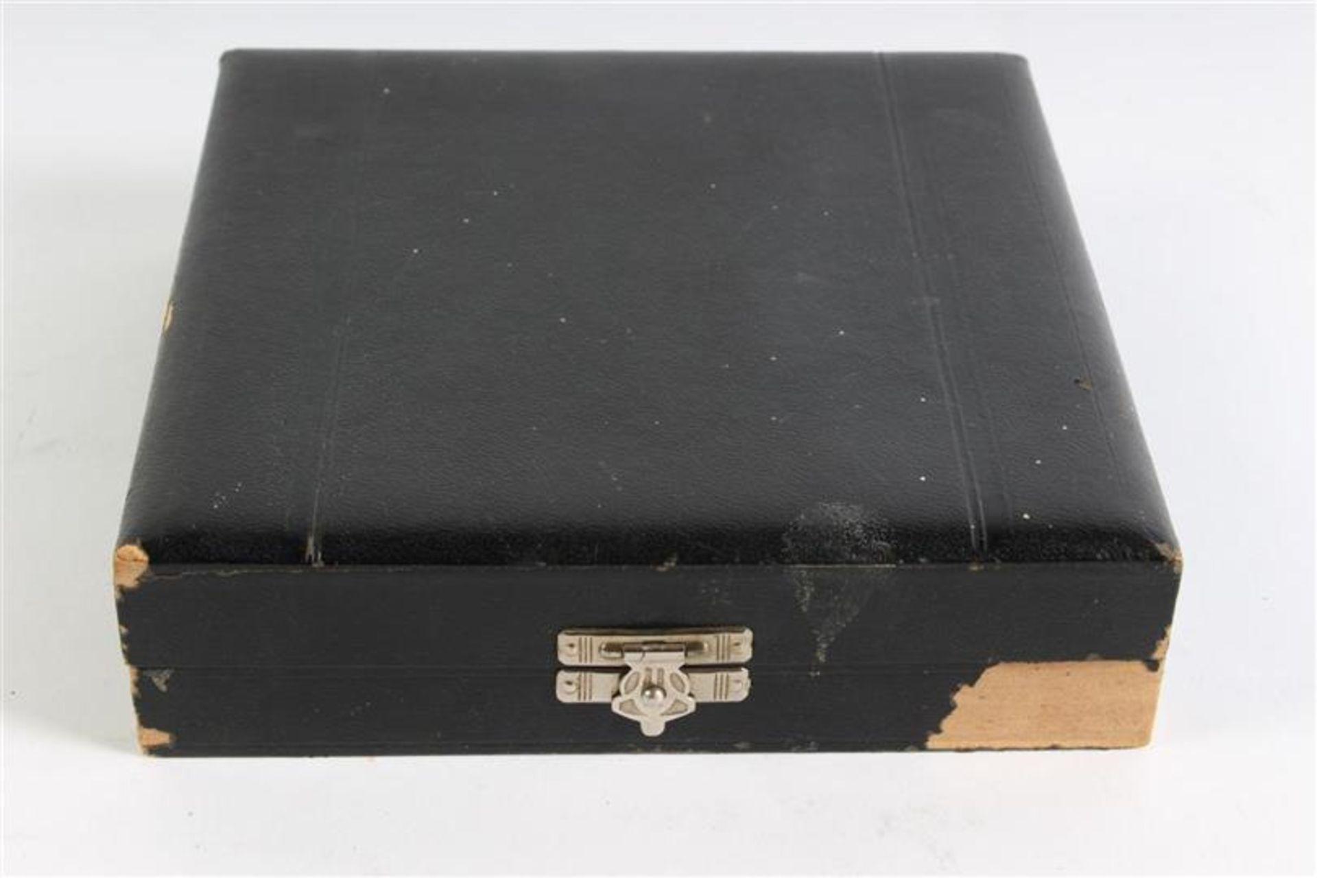Cassette met zilveren vorkjes. - Bild 5 aus 5