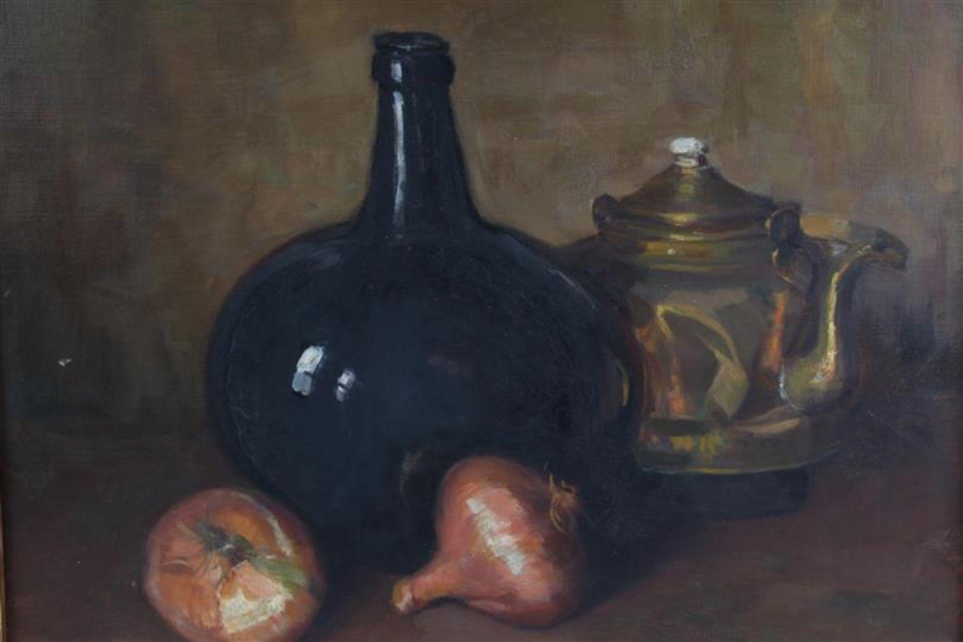 Schilderij op doek 'Keukenstilleven' HxB: 39 x 49 cm. - Bild 2 aus 3
