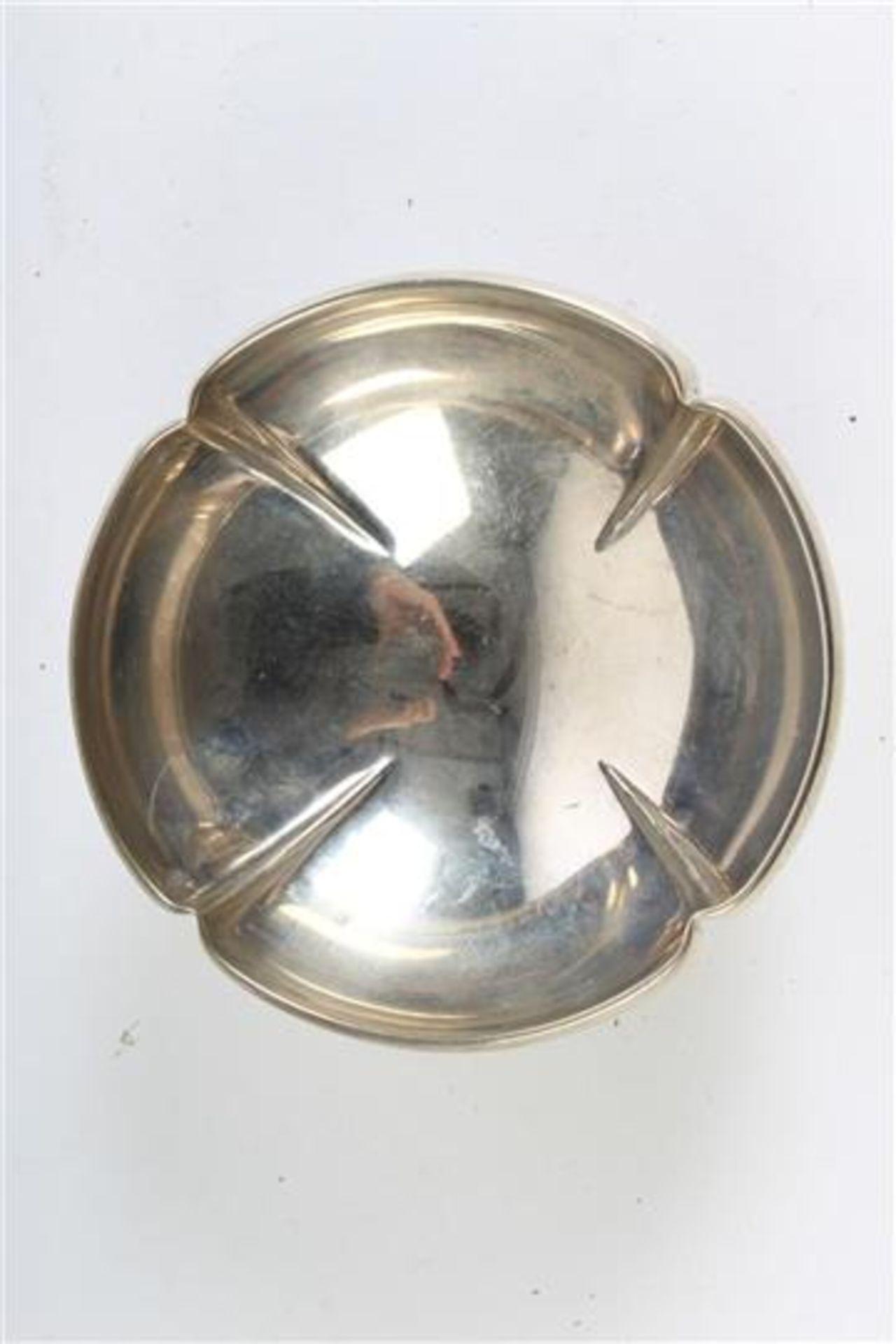 Set van vijf diverse mandjes, waaronder zilver Hollands gekeurd. Gewicht: 396 g. - Bild 4 aus 6