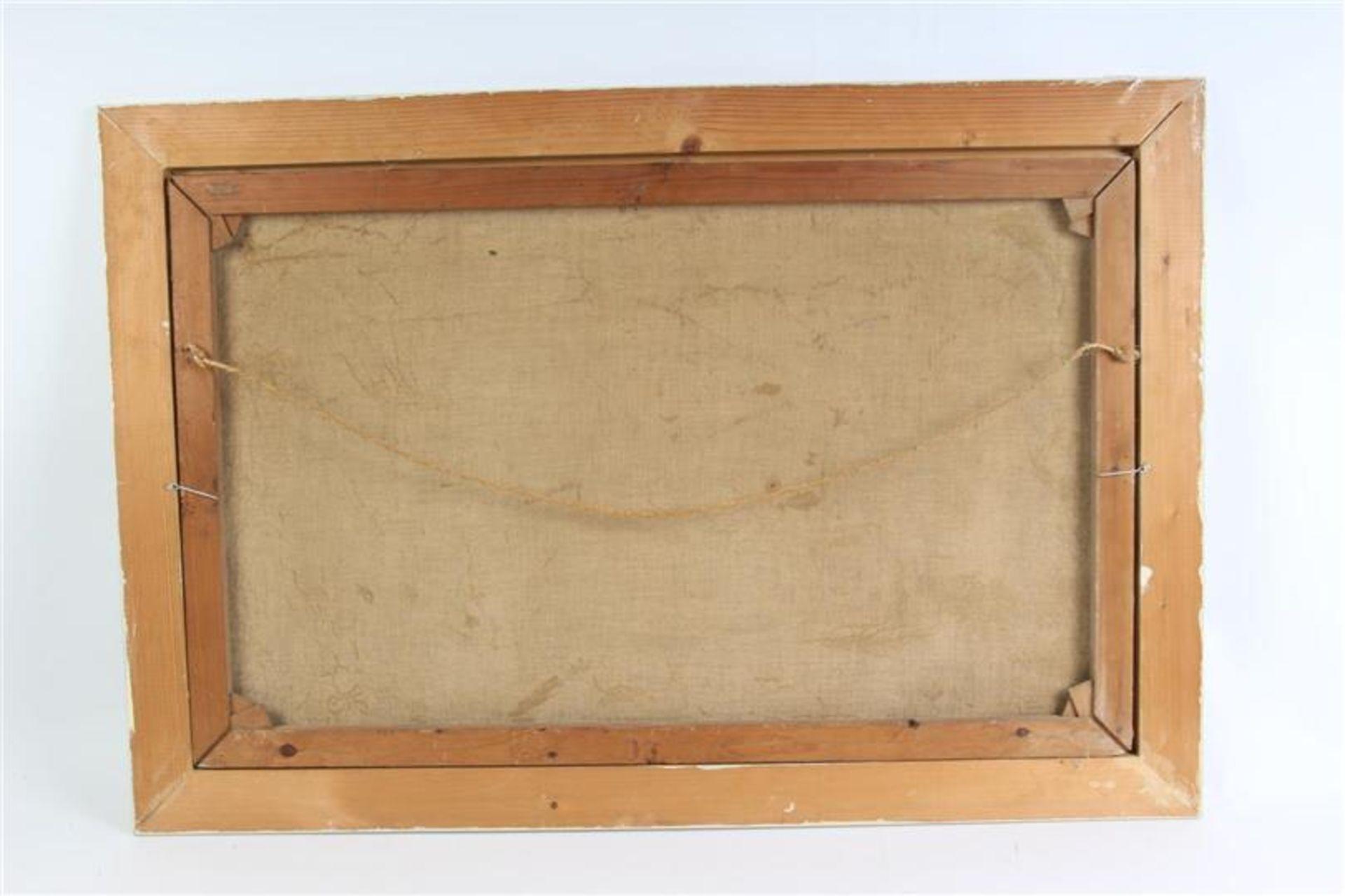 Schilderij, olieverf op doek 'Strandgezicht'. Simon Kramer (1880-1957) HxB: 49.3 x 79.3 cm. - Bild 3 aus 3