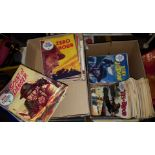 Box of Approximately 70 War Picture Library Comics