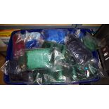 Box of approx 40 furry golf club covers assorted colours