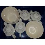 Box of Tea Pots & Baking Bowls