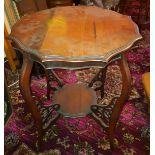 Edwardian Table plus 3 Vintage Retro Coffee Tables No Reserve