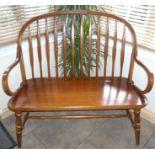 Bentwood Double Window Seat