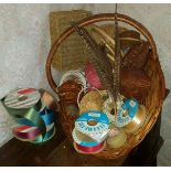 Flower Arranging Baskets Approx 15 Items Plus Other Materials No Reserve