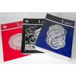 Parcel of 14 Lace Guild Magazines 1982, 1986 & 1987 NO RESERVE