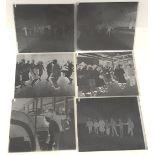 Vintage Retro 6 x Original Photography Glass Plates 1962 & 1962 Measures 10cm x 12cm