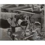 Vintage Retro Original Photography Glass Plate Short Heath Blacksmiths at Work Measures 10cm x 12cm