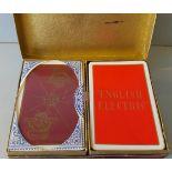 Vintage Retro Collectors De La Rue London Playing Cards English Electric