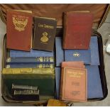 Vintage Retro Suitcase Full of Assorted Books NO RESERVE