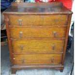 Vintage Retro Bedroom Drawers & Display Book Case NO RESERVE