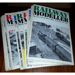 14 x Collectable Railway Magazines 'Railway Modeller' 1980's No Reserve