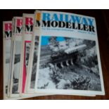 12 x Collectable Railway Magazines 'Railway Modeller' 1975 Complete Year No Reserve