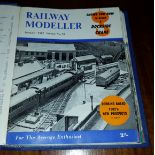 12 x Collectable Railway Magazines 'Railway Modeller' 1962 Complete Year Bound Copy No Reserve
