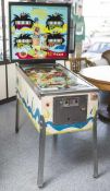 "Flipper, ""Smart Set"", Williams, 1960/70er Jahre, Pinball, 4 Spieler. H. 176/95,5 cm, Br. ca. 77/58"