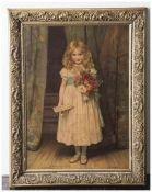 Stuckrahmen, 2. Hälfte 19. Jahrhundert, vergoldet. Innenmaß ca. 39,5 x 53 cm, partiell leicht best.
