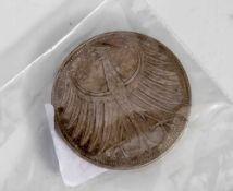 1 Silbermünze, Silberadler, 5 DM, BRD, 1956 F.