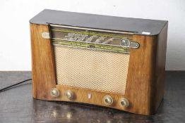 Radio, Phillips, Modell Jupiter Philetta 54L 263U273U de Luxe, Baujahr 1953/54, Röhrenbestückung.