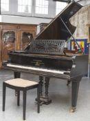 Flügel, C. Bechstein, Hoflieferant Sr. Maj. des Kaisers & Königin Berlin, Seriennummer 21625, Flügel