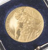 Goldmedaille, Weimarer Republik, Pfalz und Rheinland, Räumung 1930, Randprägung Bay. Hauptmünzamt,