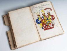 """Ordens- und Wappenkalender, """"Der Durchlauchtigen Welt zum funffzehendenmal neu vermehrter und"""