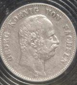 1 Münze, 2 Mark, Georg von Sachsen, 1903 E.