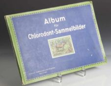 Album für Chlorodont-Sammelbilder, Ausgabe II: Außereuropäische Säugetiere, Bild 1-120, Chlorodont-