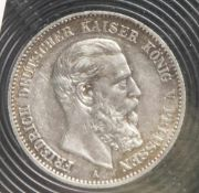 1 Münze, 2 Mark, Preußen, 1888 A.